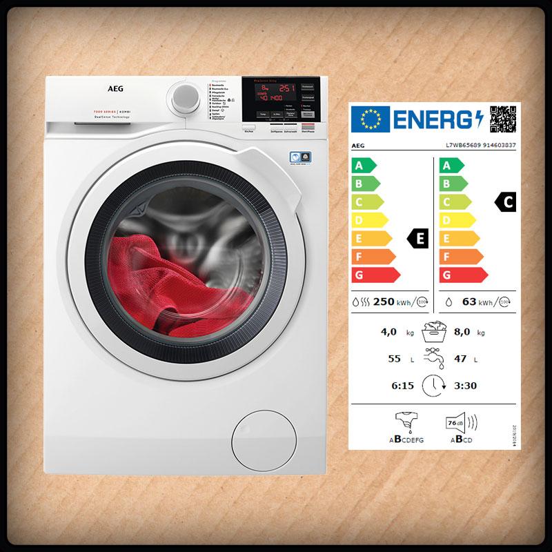 AEG L7WB65689 Wasch-Trockner