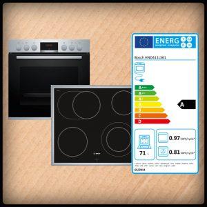 Bosch HND411LS61 Einbauherdset