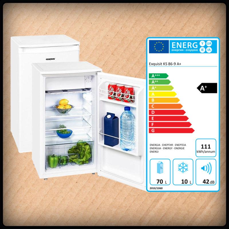 Exquisit KS 86-9 Stand-Kühlschrank