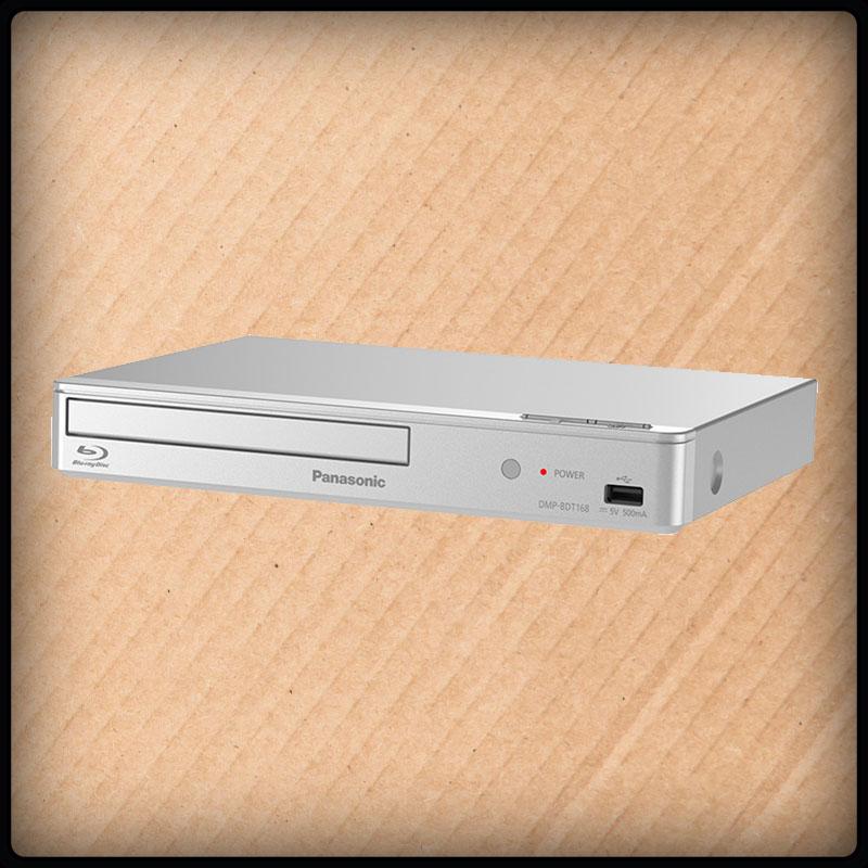 Panasonic DMP-BDT168 Blue-Ray Player