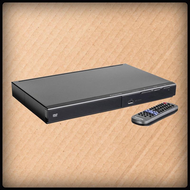 Panasonic DVD-S500 DVD-Player