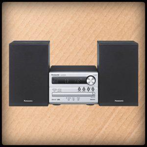 Panasonic SCPM251EG-S Mini Anlage