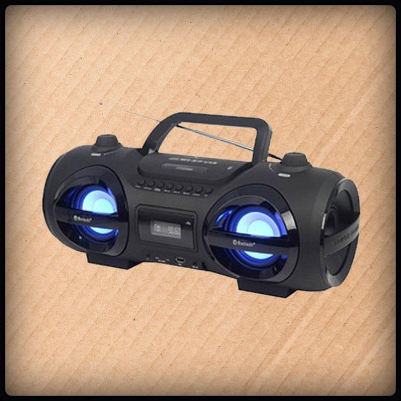 Reflextion CDR900 tragbar Bluetooth CD-Player, Radio