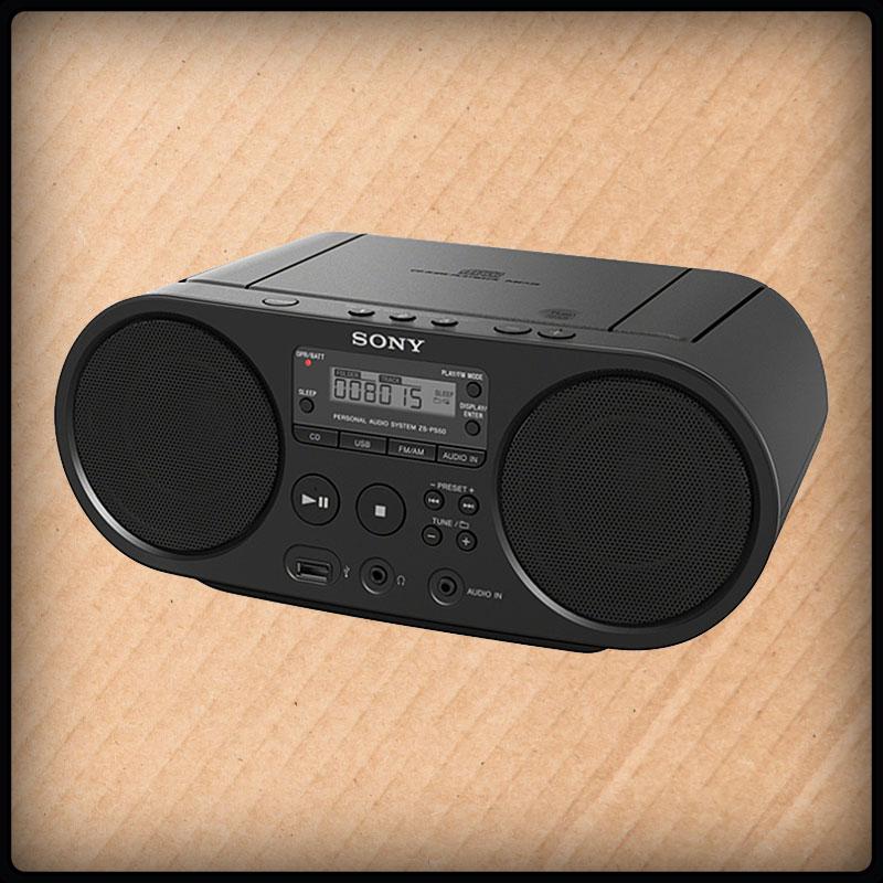 Sony ZSPS50 Radio, CD-Player