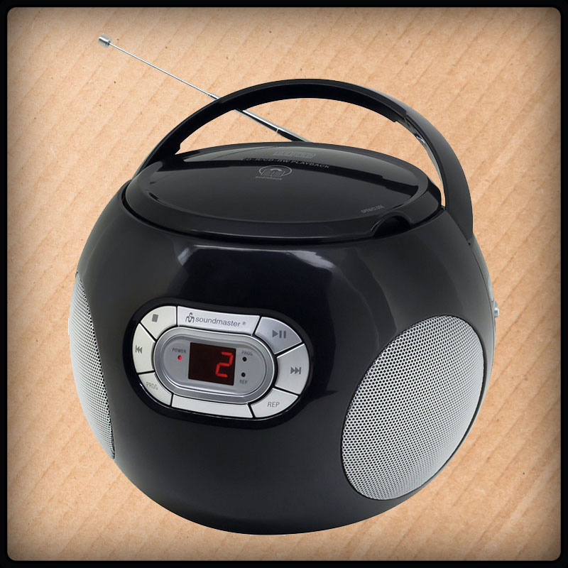 Soundmaster SCD2120 tragbar Radio, CD-Player