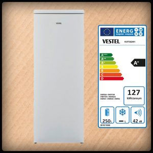 Vestel KVF562W1 Stand-Kühlschrank
