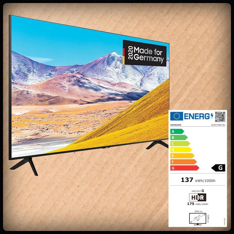 Samsung 65 GU-TU8079, Smart TV, 165cm