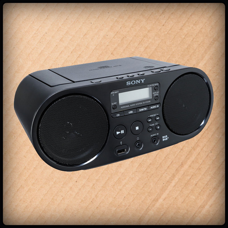 Sony ZS-PS55B, Bluetooth Radio – CD Player