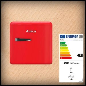 Amica KBR 331-100 Minikühlschrank