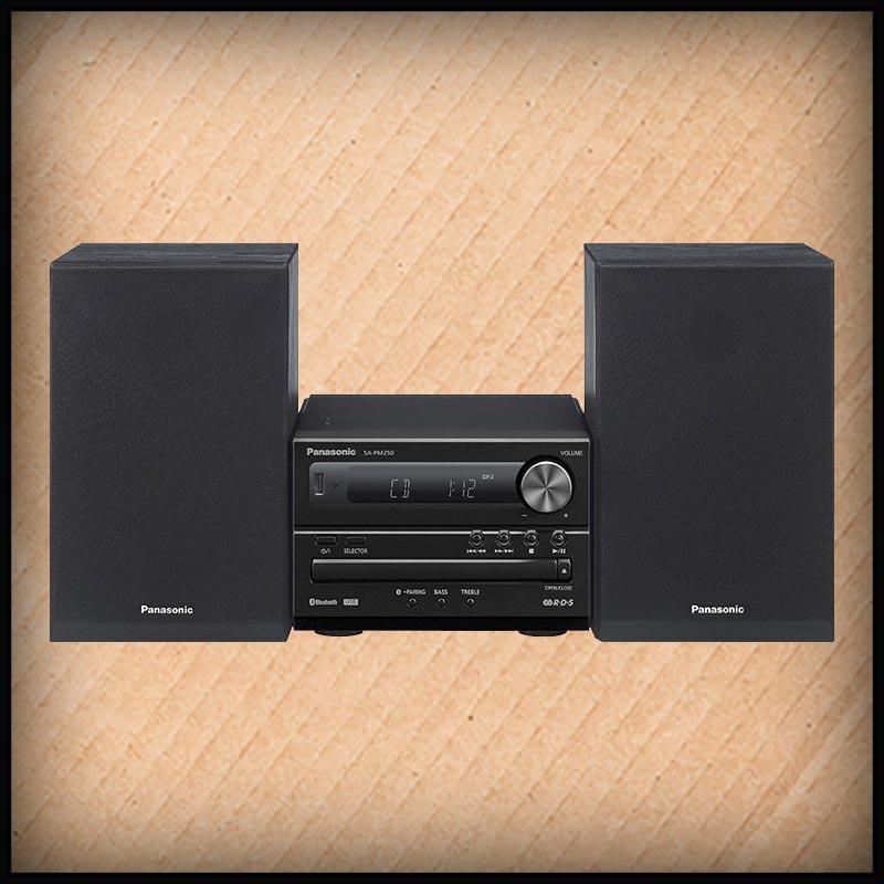 Panasonic SC-PM250 Mini Anlage 20Watt