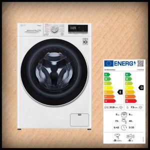 LG V4WD850 Waschtrockner