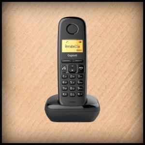 Gigaset A270schwarz DECT-Telefon