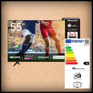 Hisense 55 AE7000F 4K Smart-TV  138 cm
