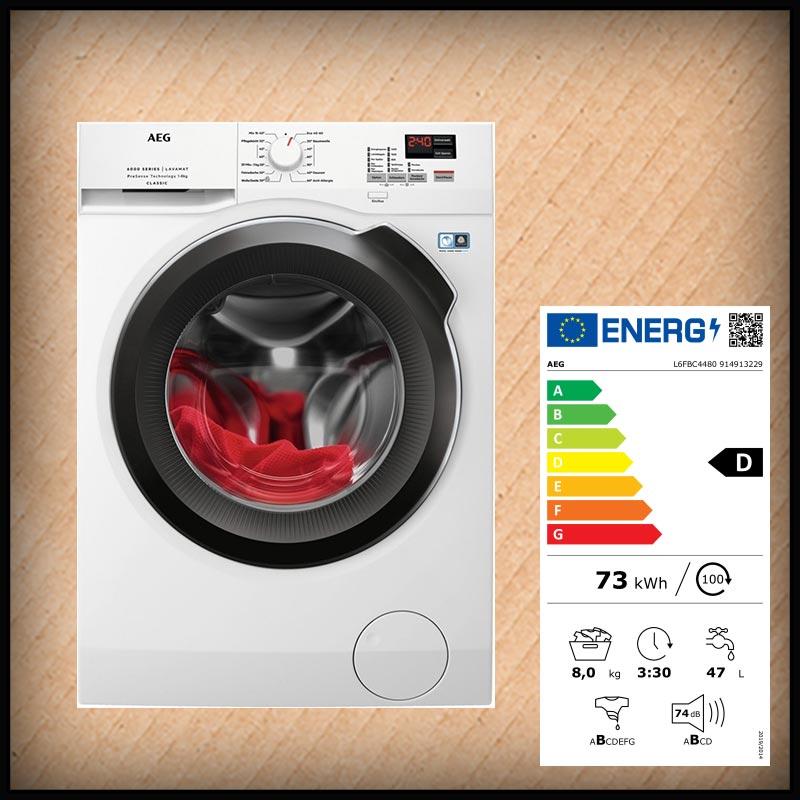 AEG L6FBC4480 Waschmaschine