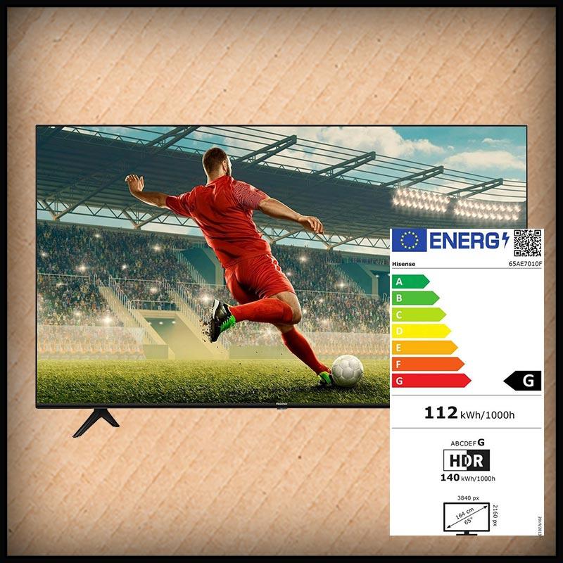 Hisense 65 AE7010F 4K Smart-TV  165 cm