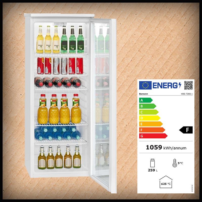 Bomann KSG 7280 Getränkekühlschrank