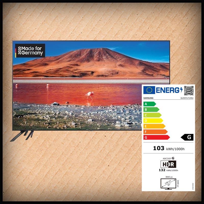 Samsung GU55-TU7199, Smart TV, 138 cm